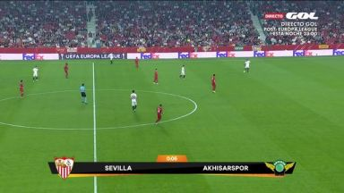 Full match: Sevilla vs Akhisarspor
