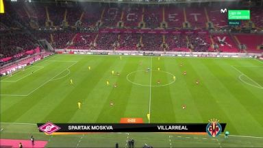 Full match: Spartak Moskva vs Villarreal