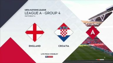 Full match: England vs Croatia