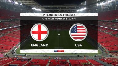 Full match: England vs United States
