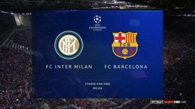 Full match: Inter Milan vs Barcelona