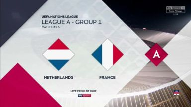 Full match: Netherlands vs France