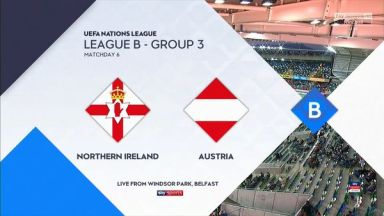 Full match: Northern Ireland vs Austria