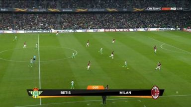 Full match: Real Betis vs AC Milan