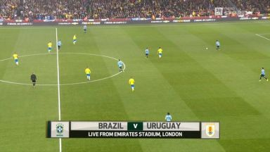 Full match: Brazil vs Uruguay