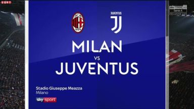 Full match: AC Milan vs Juventus