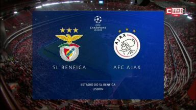 Full match: Benfica vs Ajax