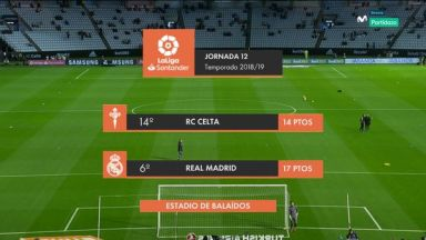 Full match: Celta de Vigo vs Real Madrid
