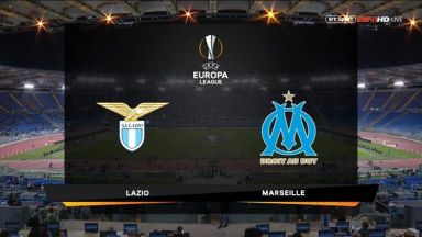 Full match: Lazio vs Olympique Marseille