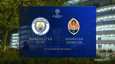Full match: Manchester City vs Shakhtar Donetsk