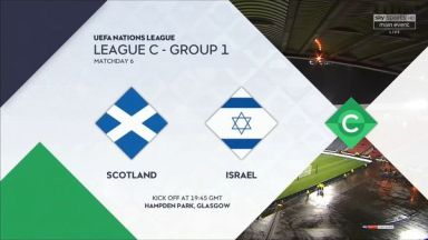 Full match: Scotland vs Israel