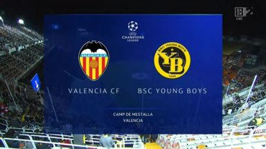 Full match: Valencia vs Young Boys