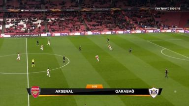 Full match: Arsenal vs Qarabağ