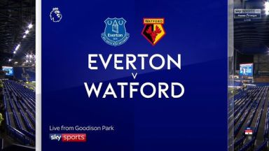 Full match: Everton vs Watford