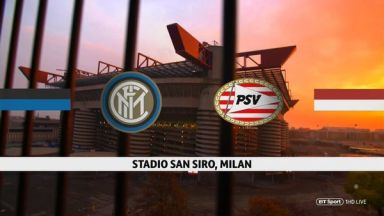 Full match: Inter Milan vs PSV