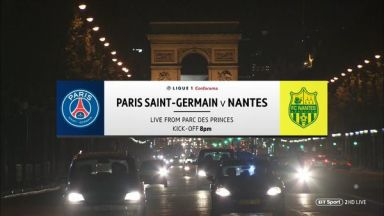 Full match: PSG vs Nantes