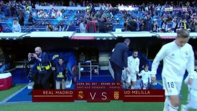 Full match: Real Madrid vs Melilla