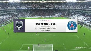 Full match: Bordeaux vs PSG