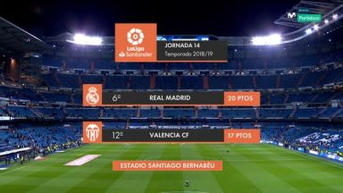 Full match: Real Madrid vs Valencia