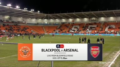 Full match: Blackpool vs Arsenal