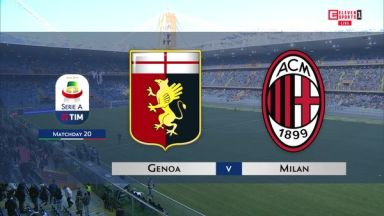 Full match: Genoa vs AC Milan