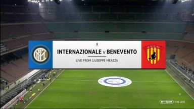 Full match: Inter Milan vs Benevento