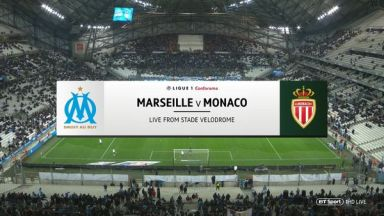 Full match: Olympique Marseille vs Monaco