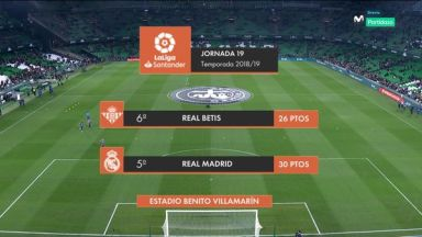 Full match: Real Betis vs Real Madrid