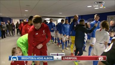 Full match: Brighton & Hove Albion vs Liverpool