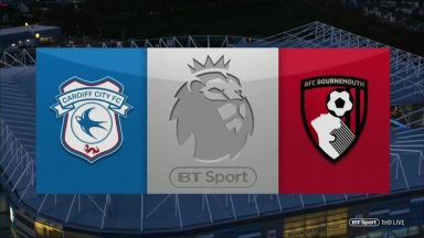 Full match: Cardiff City vs AFC Bournemouth