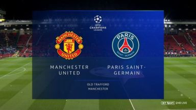 Full match: Manchester United vs PSG