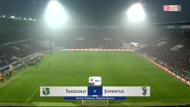 Full match: Sassuolo vs Juventus