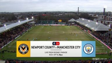 Full match: Newport County vs Manchester City