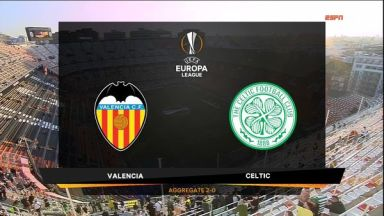 Full match: Valencia vs Celtic
