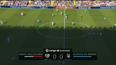 Full match: Rayo Vallecano vs Atletico Madrid