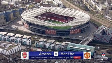 Full match: Arsenal vs Manchester United