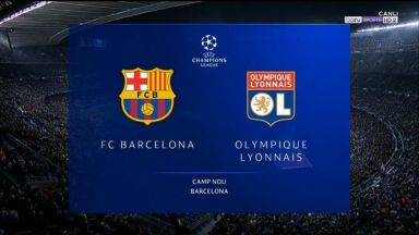 Full match: Barcelona vs Olympique Lyonnais