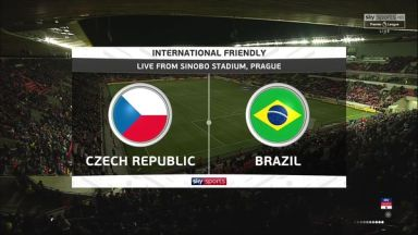 Full match: Czech Republic vs Brazil