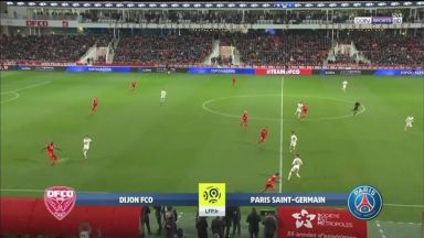 Full match: Dijon vs PSG