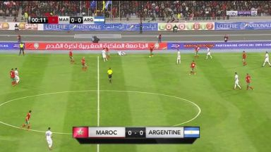 Full match: Morocco vs Argentina