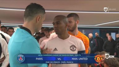 Full match: PSG vs Manchester United