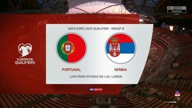 Full match: Portugal vs Serbia