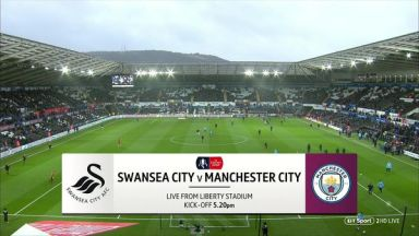 Full match: Swansea City vs Manchester City
