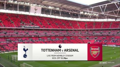 Full match: Tottenham Hotspur vs Arsenal