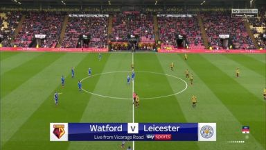Full match: Watford vs Leicester City