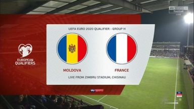 Full match: Moldova vs France