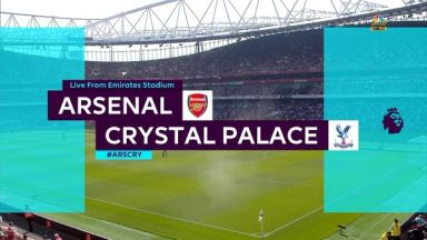 Full match: Arsenal vs Crystal Palace