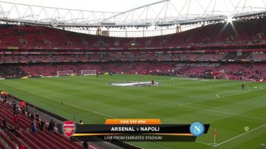 Full match: Arsenal vs Napoli