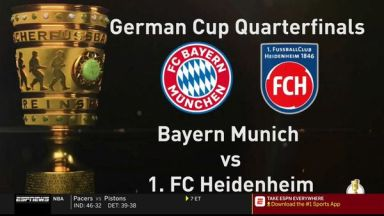 Full match: Bayern Munich vs Heidenheim