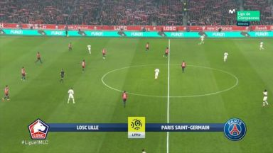 Full match: Lille vs PSG